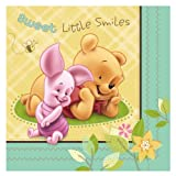 Baby Pooh and Friends Baby Shower Luncheon Dinner Napkins NEW DESIGN