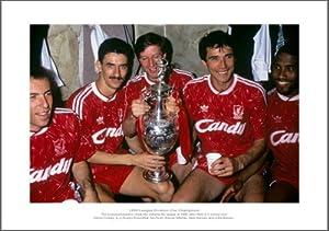 Liverpool Fc Legends - 1990 League Champions Photo Memorabilia