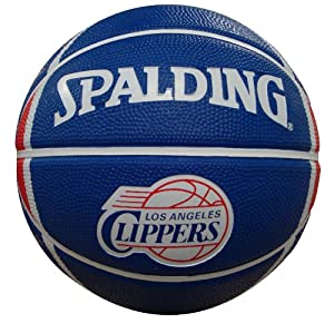 Buy NBA Los Angeles Clippers Mini Basketball by Gulf Coast Sales
