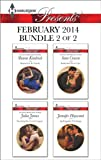 Harlequin Presents February 2014 - Bundle 2 of 2: Shamed in the Sands\Securing the Greeks Legacy\Seduction Never Lies\An Exquisite Challenge