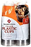 Member's Mark Clear Plastic Cups, 12 Ounce,140 Count