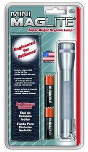Mag-Lite M2A09H Mini-Mag Lampe de Poche Métal Gris 14,5 cm de Mag-Lite