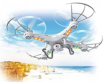 Top Race TR-Q511 4 Channel Quad Copter Drone with Camera & Video Recording