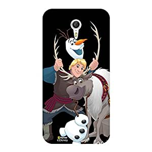 Hamee Disney Princess Frozen Official Licensed Designer Cover Hard Back Case for OnePlus 3 / One Plus 3 / One Plus 1+3 ( Kristoff Sven Olaf )