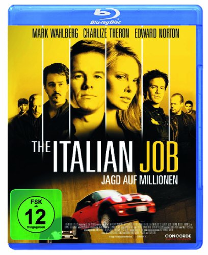 The Italian Job - Jagd auf Millionen [Blu-ray]