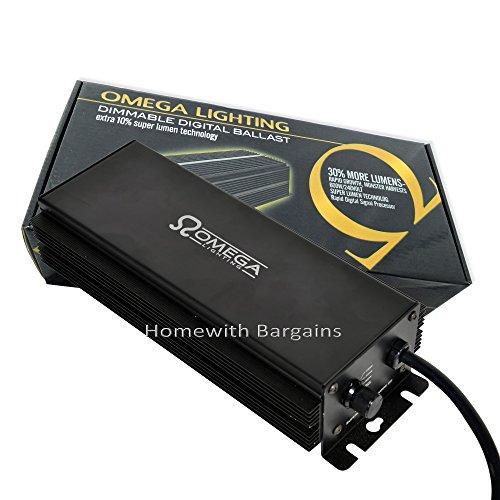 """OMEGA 600w """"Super Lumen"""" Dimmable Digital Ballast 660w,600w,400w,250w"""
