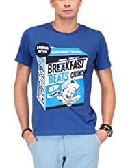 Yepme Men's Graphic Cotton T-shirt -YPMTEES0380-$P