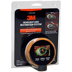 3M 39008 Headlight Lens Restoration System $16.12