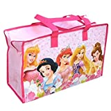 Disney Princess (5-Princesses) Large Non-Woven Gym Bag For Girls