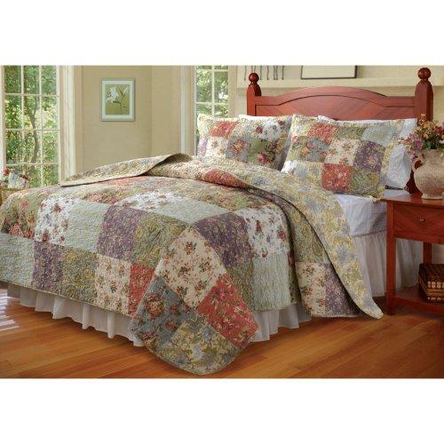 Blooming Prairie Quilt Set Size: Queen front-747671