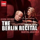 シューマン&バルトーク:ピアノとヴァイオリンのためのソナタ(ライヴ・イン・ベルリン)