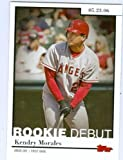Kendry Morales baseball card (Angels Seattle Mariners star) 2006 Topps Rookie Debut #RD27 ROOKIE CAR Amazon.com
