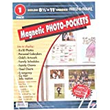 Freez-A-Frame Magnetic 8.5-Inch x 11-Inch Photo Frame