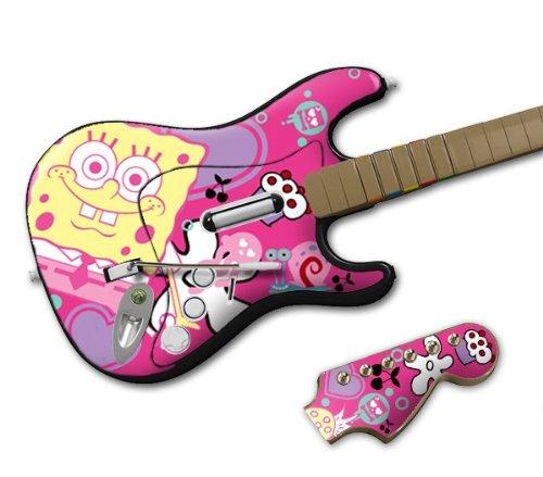 Zing Revolution MS-SBOB40028 Rock Band Wireless Guitar- SpongeBob SquarePants- Sugar and Spice Skin
