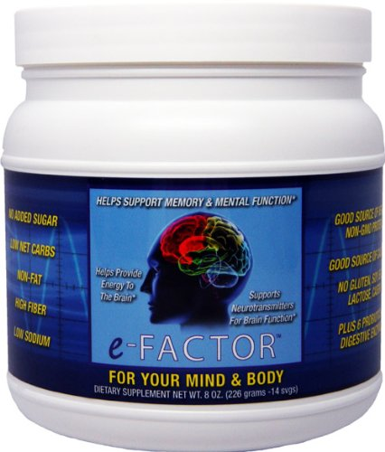 E-Factor Promotes Healthy Mood, Memory & Brain Function