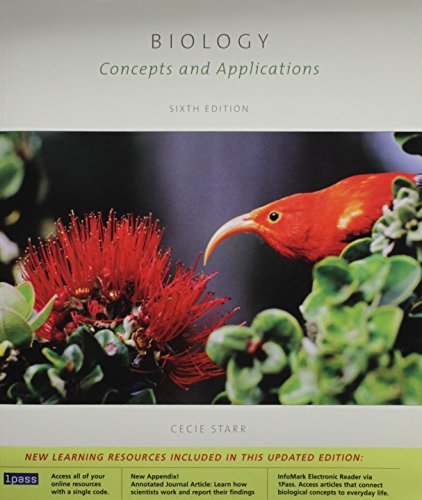 Biology: Concepts and Applications, 6th edition