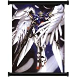 """Mobile Suit Gundam Wing Anime Wing Zero Fabric Wall Scroll Poster (16"""" x 21"""") Inches [ACT]--GundamWing- 48"""