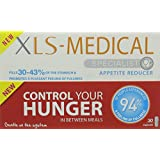 XLS-Medical Appetite Reducer Diet Pills for Weight Loss - Pack of 30