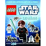 Lego Star Wars, le Livre Stickers : les H�rospar Last/Shari