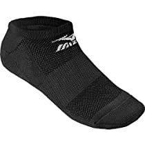 Mizuno No Show Performance Socks (Black, Large)