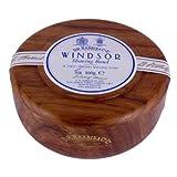 D R Harris Windsor Shaving Soap Bowl Dark Wood (Mahogony effect)+ Soap