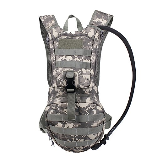 Tactical Hydration Pack Backpacks with 2.5L Bladder for