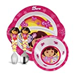 Munchkin Dora The Explorer Toddler Dining Set 11192