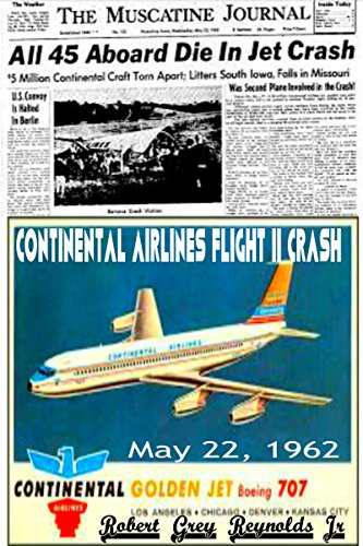 continental-airlines-flight-11-crash-may-22-1962-english-edition