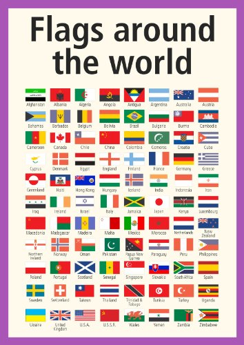 Luther vandross flags of the world poster world map flags poster a3 multicultural poster gumiabroncs Image collections