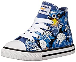 Skechers Kids Star Wars Cayden Starfighter Sneaker (Toddler) , Blue, 8 M US Toddler