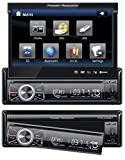 51gar%2Bv2dfL. SL160  Power Acoustik PTID 8920B In Dash DVD AM/FM Receiver with 7 Inch Flip Out Touchscreen Monitor and USB/SD Input