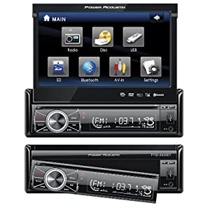 Power Acoustik PTID-8920 In Dash DVD AM-FM Receiver