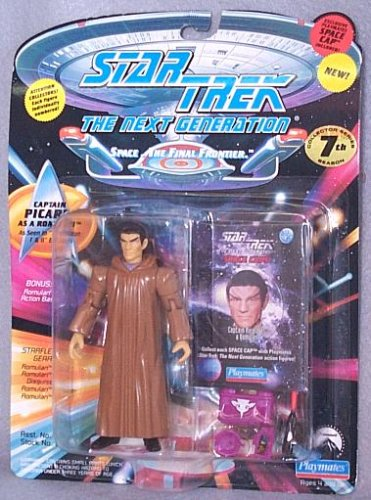 Star Trek The Next Generation Captain Picard as a Romulan 4 inch Action Figure