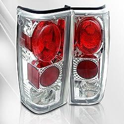 Chevy S10 82 83 84 85 86 87 88 89 90 91 92 93 Tail Lights ~ pair set (Chrome)