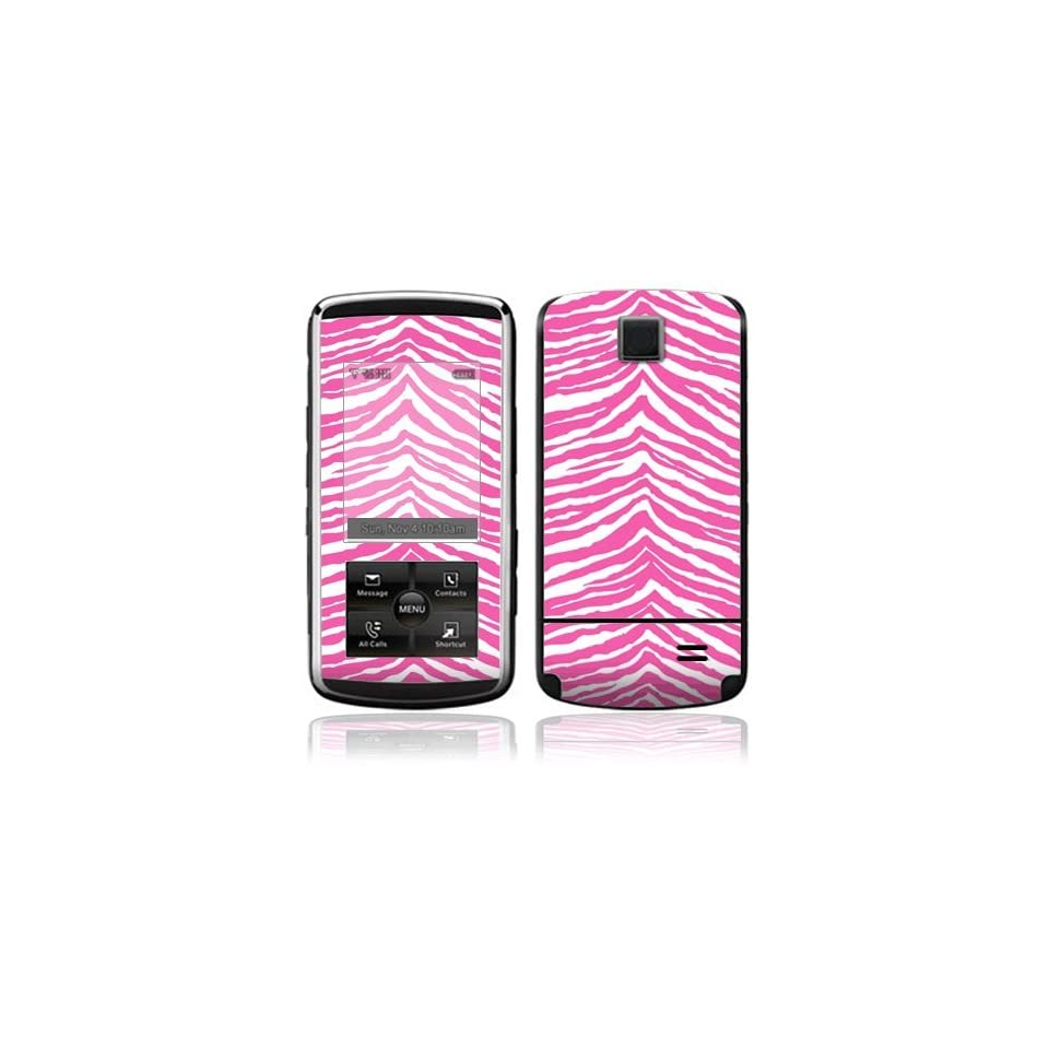Pink Zebra Decorative Skin Cover Decal Sticker for LG