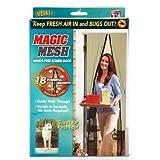 Intsun® Magic Mesh Hands-Free Screen Door, Premium Magnetic Screen Door - Instant Bug Mesh, Magnetic bug screen... at Sears.com