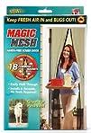 Intsun® Magic Mesh Hands-Free Screen Door, Premium Magnetic Screen Door – Instant Bug Mesh, Magnetic…