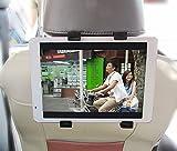 【Beyeah】 タブレットPC用 車載ホルダー - ヘッドレスト装着マウント(7インチ-12インチ各社タブレット等に対応)『Xperia Z4 Tablet』
