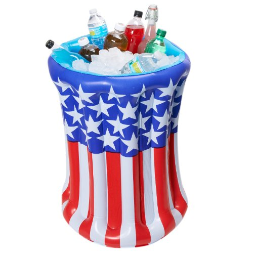Patriotic Inflatable Cooler Party Supplies