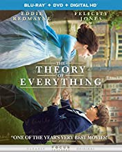The Theory of Everything (Blu-ray + DVD + DIGITAL HD with UltraViolet)