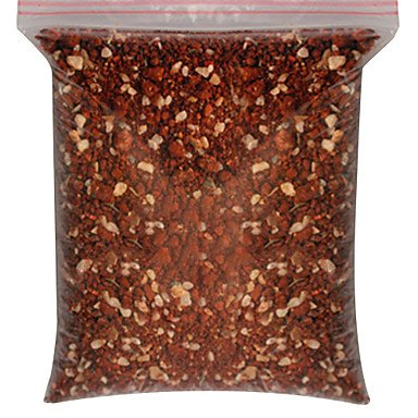 Zcl In-Cage Red Sand Food Feed For Pets Birds 500G , Red , S