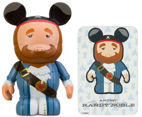 "Pirate Auctioneer by Randy Noble - Disney Vinylmation ~3"" Park Series #3 Designer Figure (Disney Theme Parks Exclusive) - 1"