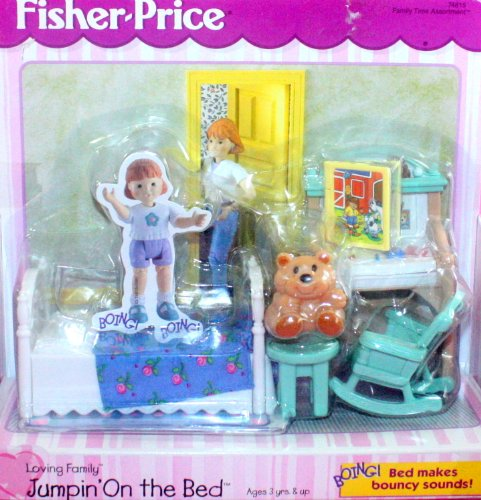 Fisher Price Loving Family Dream Dollhouse Jumpin' on the Bed