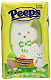 Peeps, Large White Bunny Marshmallow, 1 Bunny Per Package, Set of 4 Packages