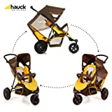 Hauck Freerider in Line Tandem Double Buggy (Brown)