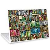 "GelaSkins Protective Skin for 13.3 & 14.1"" PC and Mac Laptops - ""Bookshelf""by 844665021310"
