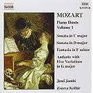 Mozart: Piano Duets, Vol.1