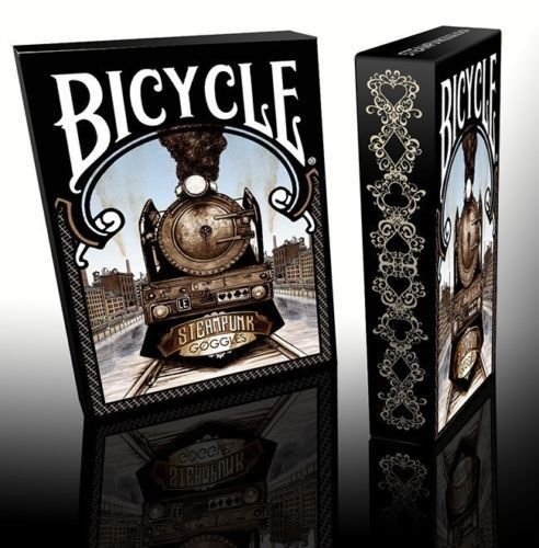 Bicycle-Steampunk-Goggles-Limited-Edition-Playing-Cards-Deck-Brand-New