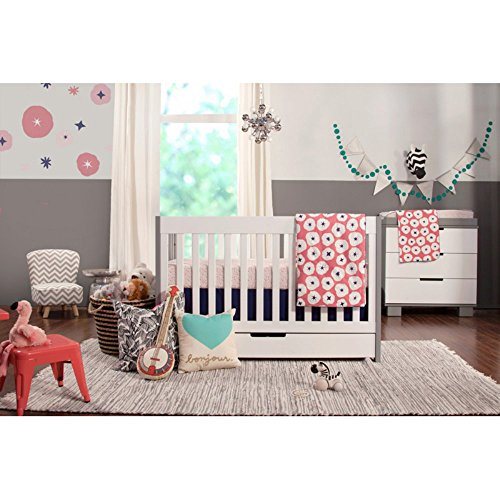 Babyletto Mercer 3 in 1 Convertible Crib Collection - Grey &