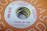 DON ELLIS 45 RPM Tears Of Joy / Same